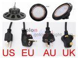 5 ans de garantie 60 90 120 la lampe élevée de compartiment du degré 100W 160W 200W 2470W DEL avec nous UE BRITANNIQUE d'Au branchent