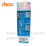 Estante de visualización del almacén del estante de visualización de la cartulina para el cepillo de dientes
