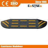 Rampa di gomma dell'automobile del bordo dell'indicatore luminoso nero & giallo