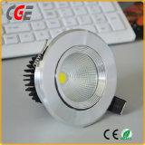 5W 7W 9W COB LED Downlight avec 3 ans de garantie