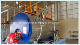 Brenngas, Öl, Doppelkraftstoff-Dampfkessel mit europäischem Brenner und Siemens-Basissteuerpult