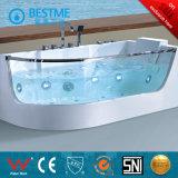 Simple, independiente del grifo de bañera con Blue-Glass (BT-A1020)