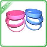 Förderung-Geschenk-Gummiarmband-SilikonWristband mit der Farbe gefüllt