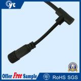 2464 20 AWG 9 Cable impermeable de la CC del conectador para el LED