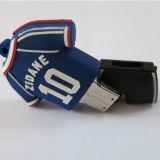 A esfera do número 10 veste mais movimentação do flash do USB do PVC da cor pode ser o logotipo personalizado 256GB