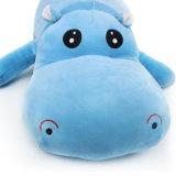 Het zachte Speelgoed van de Pluche van Hippo van de Douane