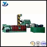 Prensa usada funcionamiento estable horizontal de la chatarra para los exportadores del metal