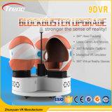 Cine eléctrico popular del huevo del Triple-Asiento del simulador 9d Vr del cine de la realidad virtual 9d