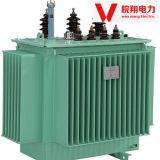 Transformator in drie stadia/Olie Ondergedompelde Transformator/Transformator