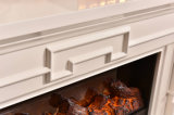 Cheminée électrique d'hôtel des meubles TV de chaufferette moderne de stand avec du ce (342S)