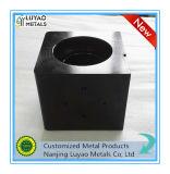 Nach Maß schwarze anodisierte Präzision CNC-große Stück-Aluminiummaschinelle Bearbeitung