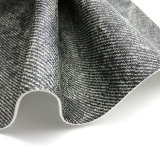 Couro de imitação do PVC da Pano-Grão para a mobília (HTS019)