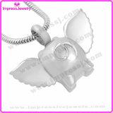 Herdenkings Halsband voor Tegenhanger van de Uil van de As de Leuke met Kristallen Ijd9740