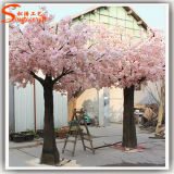 2015年の工場直接人工的なプラスチック擬似絹の桜の木