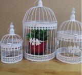 屋外の装飾のためのハンドメイドの鉄の鳥籠