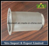 ステンレス鋼の金網フィルターシリンダー