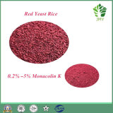 حمراء خميرة أرزّ 4% [مونكلين] [ك] لا ليمونين عمل مسحوق