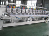 Máquina lisa do bordado de matéria têxtil do melhor tampão principal da cabeça 12 de Quality&Design 10