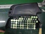 batterie au lithium de 52V 11.6ah Downtube avec le paquet de dauphin de Panasonic de port USB pour la bicyclette électrique