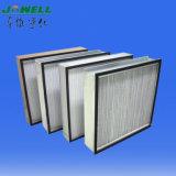 Filtro de aire encajonado profundo del plisado HEPA del marco de aluminio H13