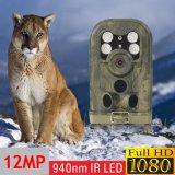 macchina fotografica selvaggia della traccia di angolo di visione notturna di 12MP 1080P