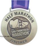 Medaglia su ordinazione per la maratona di San Francisco, stazione di finitura