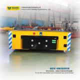 Электрический регулируя экипаж платформы трейлера для погрузо-разгрузочной работы