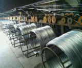 Fil de fer galvanisé creux chaud, fil électro-galvanisé