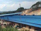 Heiße Verkaufs-Baumaterialien UPVC/Belüftung-gewölbte Dach-Fliesen