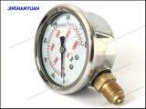 Tipo de Wika con el manómetro del anillo del balanceo/el calibrador de presión
