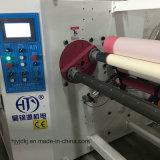 Breiten-automatische Rückspulenmaschine der hohen Präzisions-1300mm mit aufschlitzender Funktion