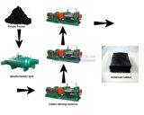 Pó de borracha semiautomático automático cheio que faz a máquina para o recicl Waste do pneumático