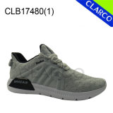 Men Flyknit Mesh Sports Sneaker Shoes com sola de almofada