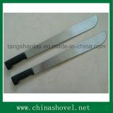 Machete do Sugarcane do machete M252 com o punho plástico de madeira