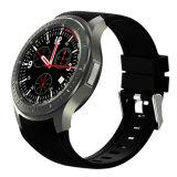 Reloj elegante GPS WiFi del teléfono del OEM del reloj elegante androide del monitor del ritmo cardíaco de la base 1.3GHz del patio del Mtk 6580