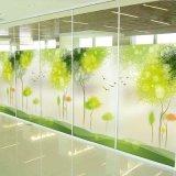 젖빛 유리 필름 태양 필름을 색을 칠하는 장식적인 유리제 Signage Windows