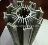 Profil en aluminium d'extrusion usiné par commande numérique par ordinateur d'Al-6063/6061 Presicion de radiateur/de radiateur