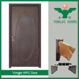 Modèles en bois modernes de porte de l'entrée WPC de qualité