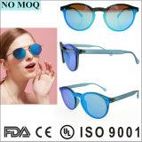 Vidros de Sun redondos retros das mulheres novas das senhoras dos óculos de sol da forma