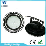 산업 UFO Highbay 램프 IP65는 150W LED 높은 만 빛을 방수 처리한다