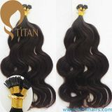100% Vierge indienne Remy Cheveux humains I Tip Hair Extension