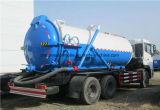 Dongfeng 6*4 16tonsの真空タンクトラックの下水のきれいなトラック