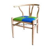 Silla de acero del restaurante de la espoleta Y de los muebles del grano de madera (JY-R19)