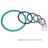 Gummi zerteilt O-Ring der verschiedenen Farbe