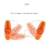 personne remuante Mokuru du bout du doigt 2-in-1 renversant le fileur de main de compas gyroscopique de doigt de bâton