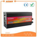 Invertitore di CA di CC di prezzi di fabbrica di Suoer 12V 220V 2500W (HAD-2500A)