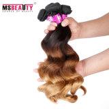 Novo produto 100% não processado brasileiro cabelo humano Weave