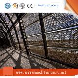 Lamina di metallo perforata decorativa della parete divisoria