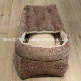 Casa ondulada interna do gato da caixa dos produtos bonitos do animal de estimação do projeto