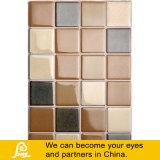Tuile de mosaïque en céramique de mélange carré fabriqué à la main chaud de vente pour la série en céramique d'art de mur (art en céramique F01/F02/F03)